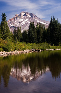 Mount Hood - view from Mirror Lake #2