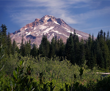 Mount Hood - view from MIrror Lake