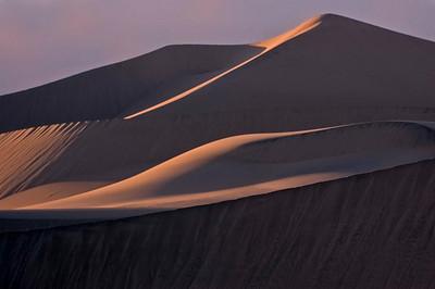 Mesquite Flats dunes - evening light