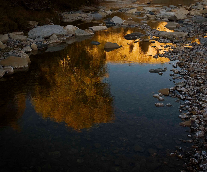 Reflections in Terlingua Creek