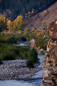 Fall morning in the Gros Ventre