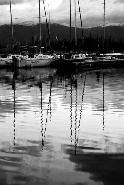 Lake Dillon, sunrise