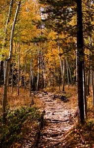 Rainbow Lake trail, Frisco