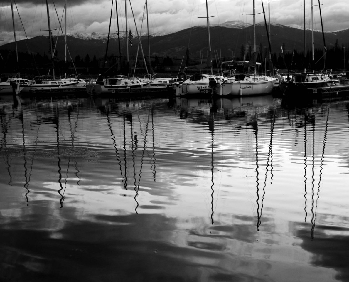 Sailboats, Dillon Resevoir, Frisco