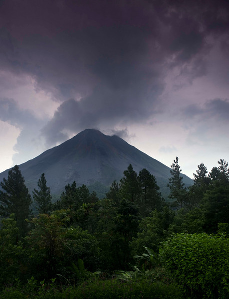 Volcán Arenal from the Arenal Observatory Lodge