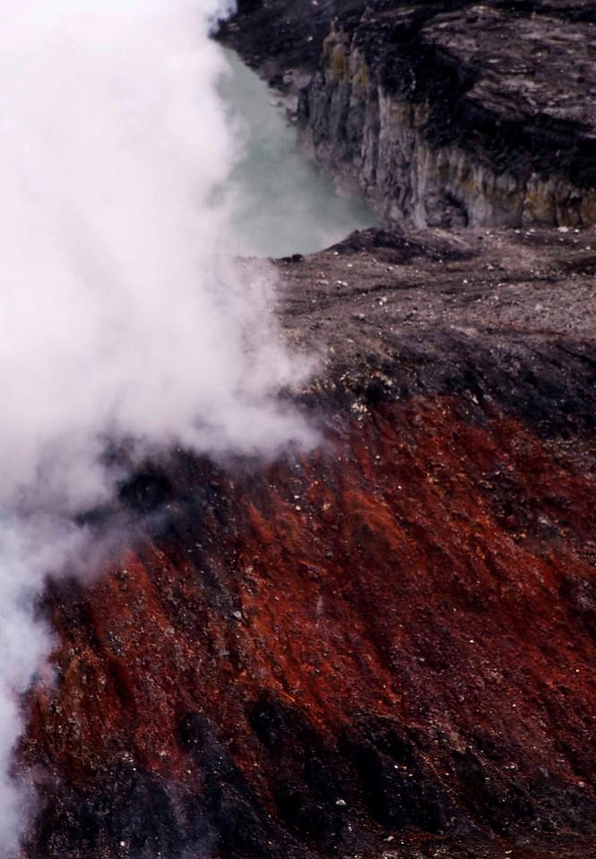 Detail,  Volcán Poás