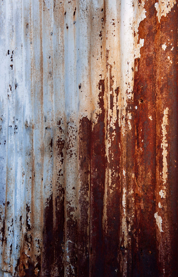 Texture - I love the juxtaposition of the warm and cool colors in this one