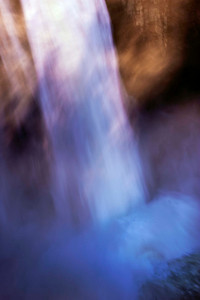 Snoqualmie Falls, abstracted