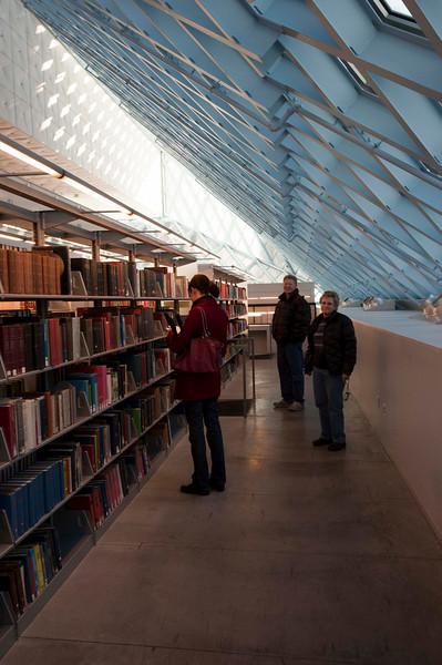 Seattle Public Library - Rachelle, Audrey, and Steve