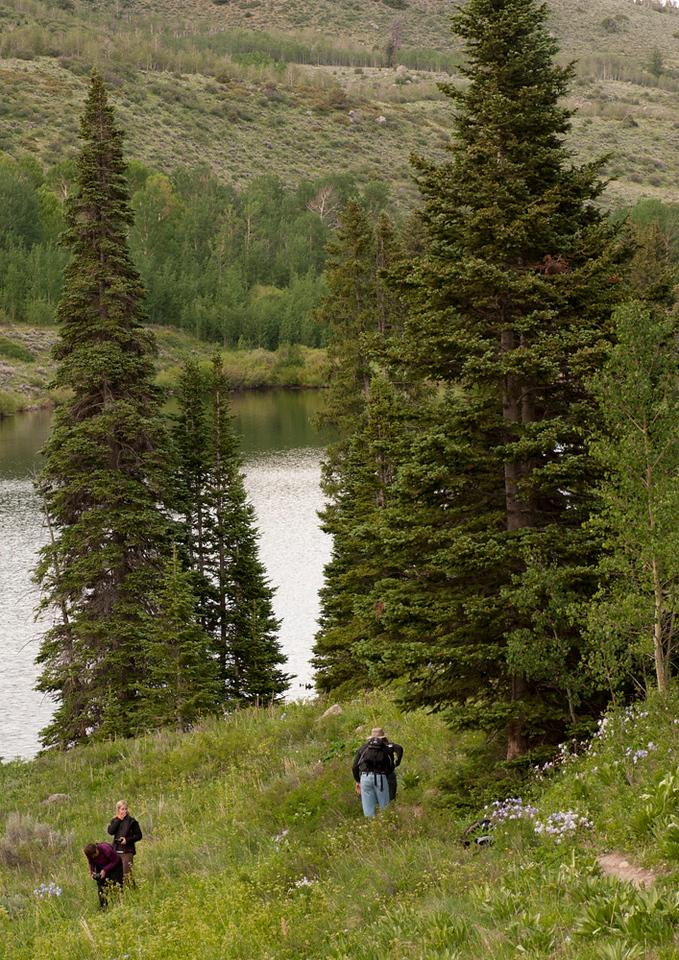Lower Cataract Lake with Click!, John Fielder