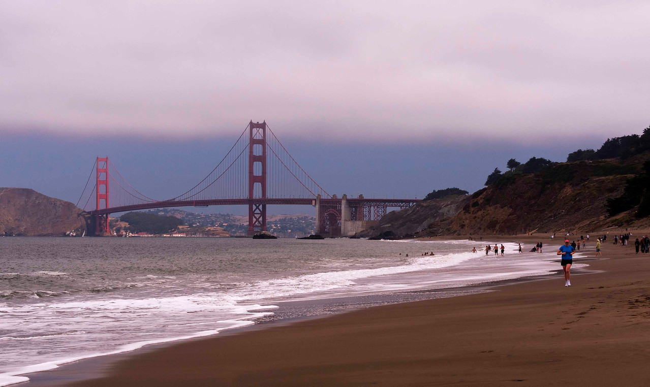 View from Baker Beach