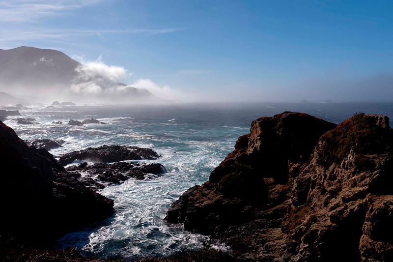 A typical Big Sur morning.  Seriously - is there anything typical about this beauty?!?!?!?
