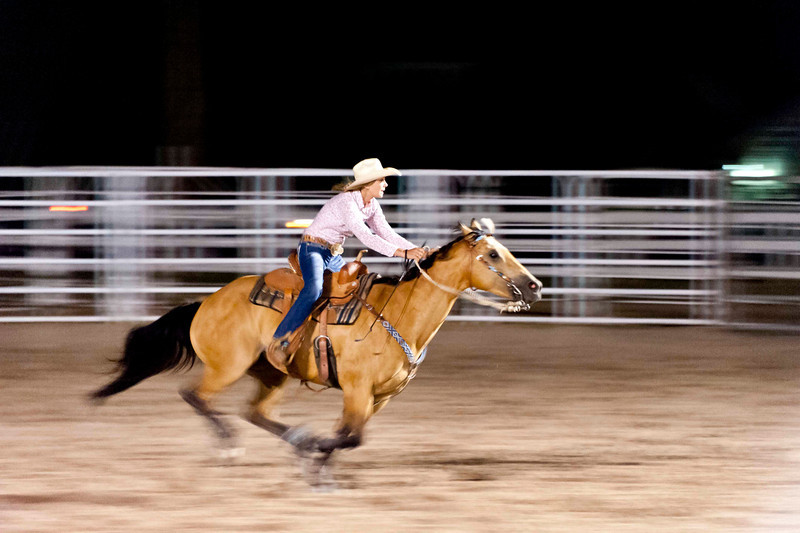 barrel racing - blast to the finish!