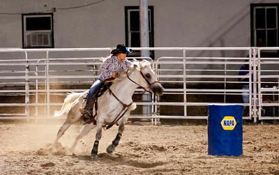 barrel racing - extraordinary; my favorite rodeo event of all times