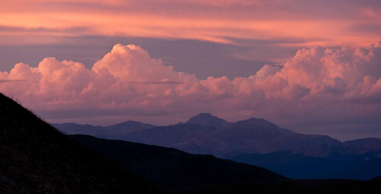 Long's Peak from Jone's Pass