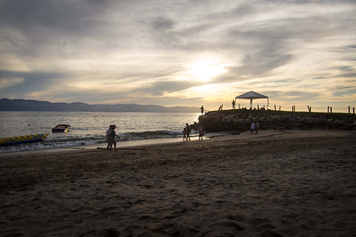 The beach near from Villa del Palmar