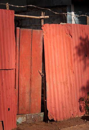 Not an unusual door, in the barrio