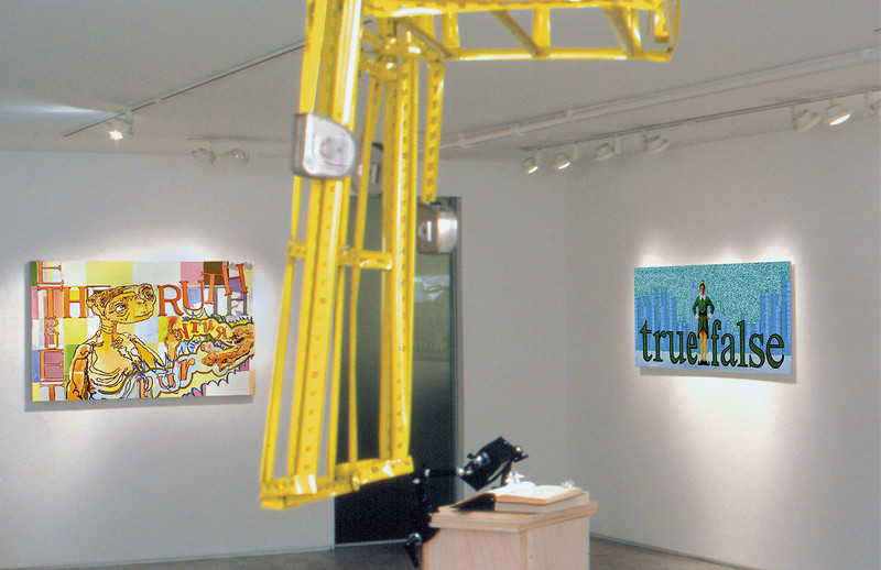 Proposition Gallery Exhibit; Northwest view, main gallery, 2005.