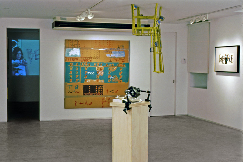 Proposition Gallery Exhibit; East view,  main gallery & exhibit room no. 2, 2005.