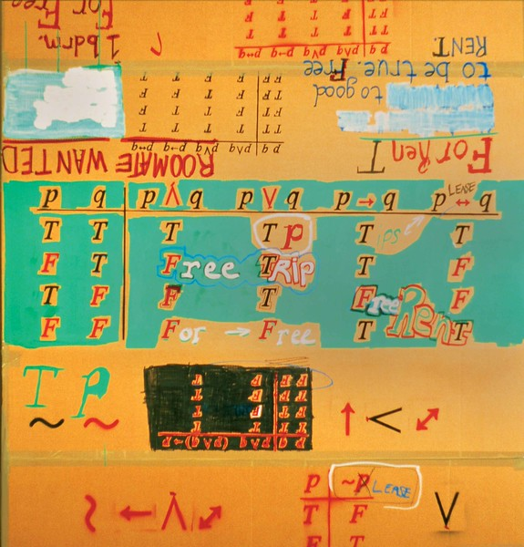 Truth Table For a Nomad's Home. Cardboard, 2.5'w x 2.5'h x 7'l, 2004.