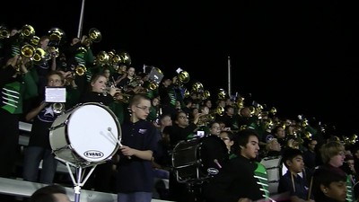 2017.10.12 Jasper vs. McMillan Cluster Middle School Fight Song Short