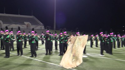 2017.10.12 - Jasper vs. McMillan (Pink Out) Halftime Part 2