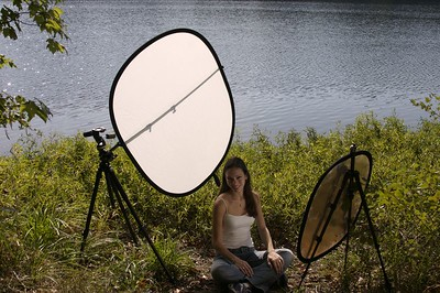Hey - you try shooting in direct sun light without a diffuser. (That didn't sound as macho as I had hoped)