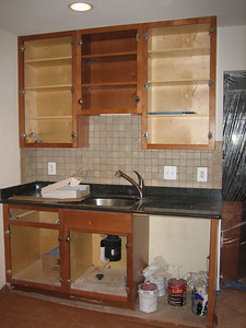 Day 9: Backsplash installed