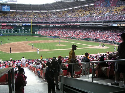 View from the seats