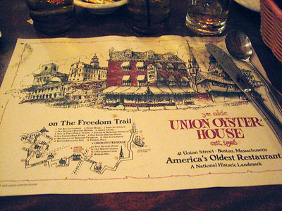 I almost wish the meal hadn't been so great - I've got lots of great jokes centered around it being America's oldest restaurant.