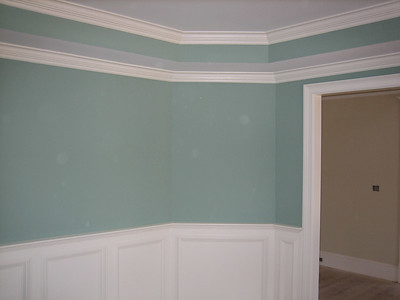 Dining room - tray ceiling
