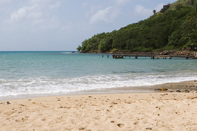 Beach at Pigeon Island