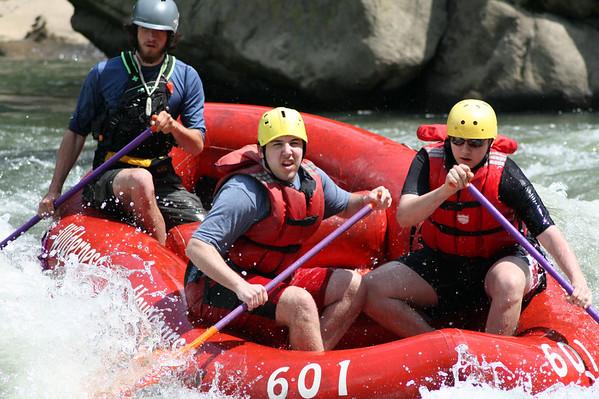 2009 Senior Rafting Trip