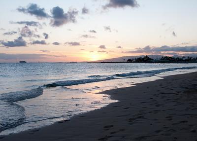 Sunset from Waikiki