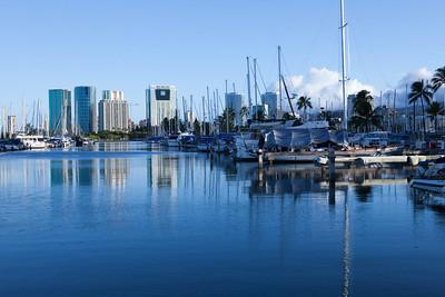 Ala Wai Boat Harbor