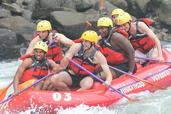 2011 Senior Rafting Trip