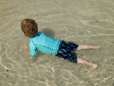 water push ups