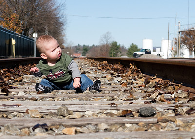 Is that a train I hear?  I better learn to crawl asap.