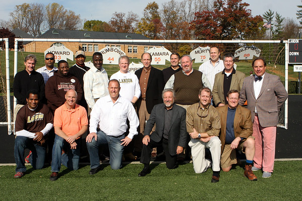 2012 Football Senior Day
