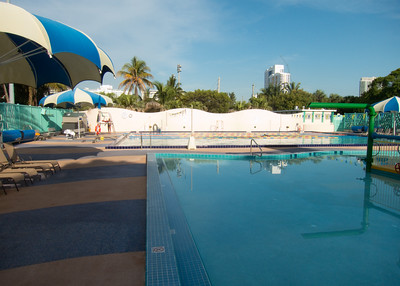 Flamingo Park Pool, Miami Beach  Being able to lap swim outdoors year round must be awesome
