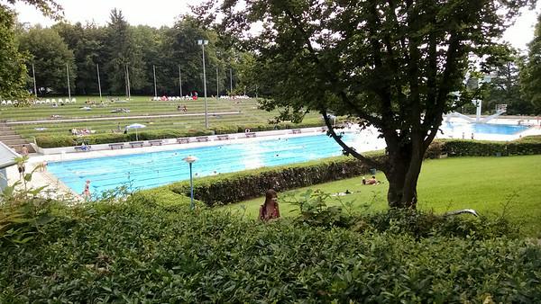Badezentrum Sindelfingen - outdoor 50m pool