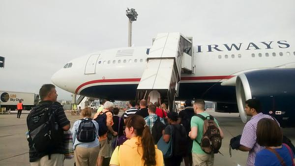 USAirways FRA to CLT