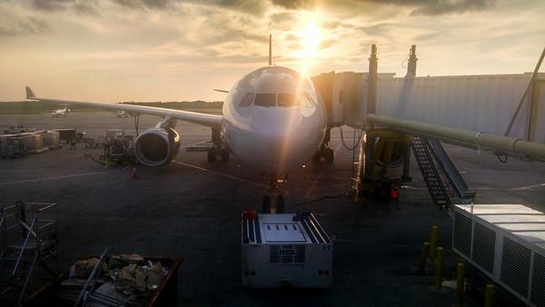 USAirways A330 - CLT to FRA