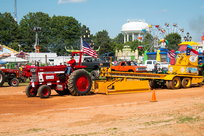 Of course we went to a tractor pull - it's NC