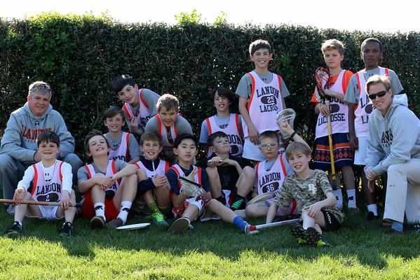 2016 Landon 5th Grade LAX Team Photos