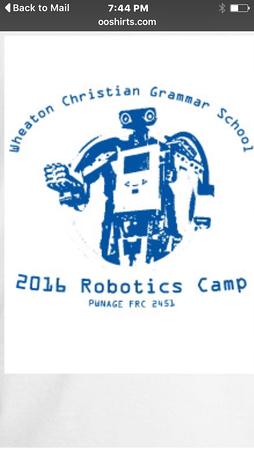 wheaton christian robotics camp