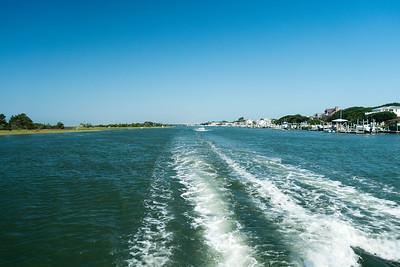 Quick boat trip