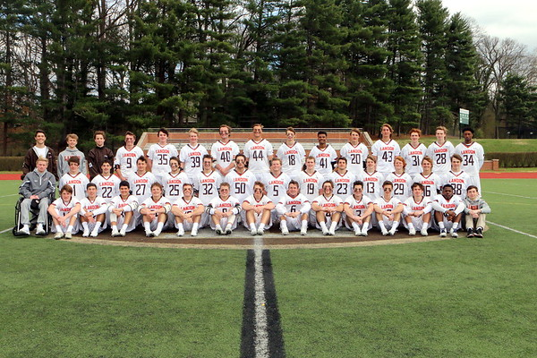 2017 Varsity Lacrosse Team Photos