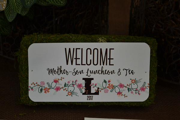 Mother Son Luncheon & Tea 2017