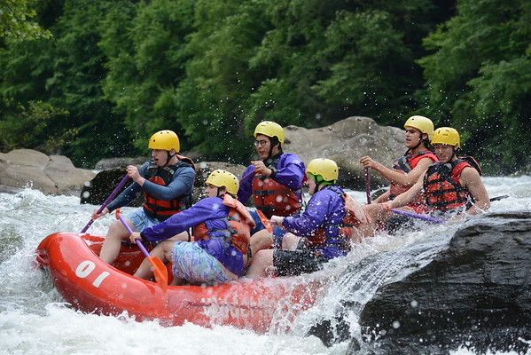 Senior Raft Trip  June 6, 2017